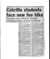 Cabrillo students face new fee hike