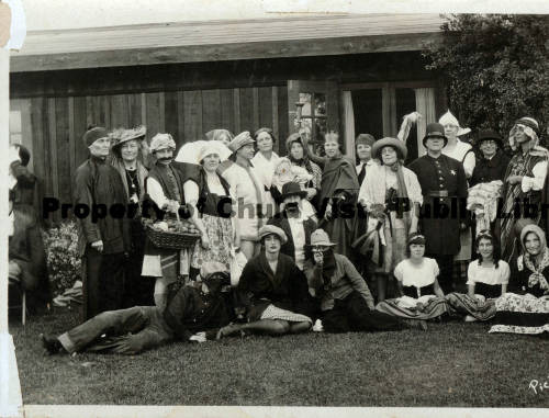 Early members of the Chula Vista Woman's Club