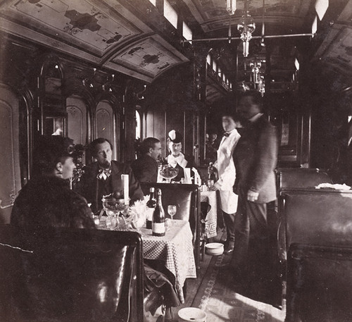 1489. Dining Party--in the Dining Car Cosmopolitan