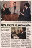 New mayor in Watsonville
