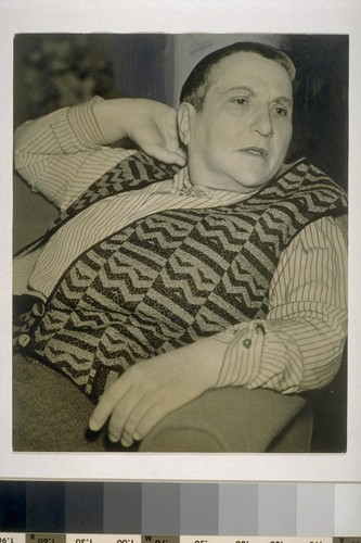 [Gertrude Stein visit to San Francisco