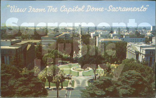 View from the Capitol Dome - Sacramento