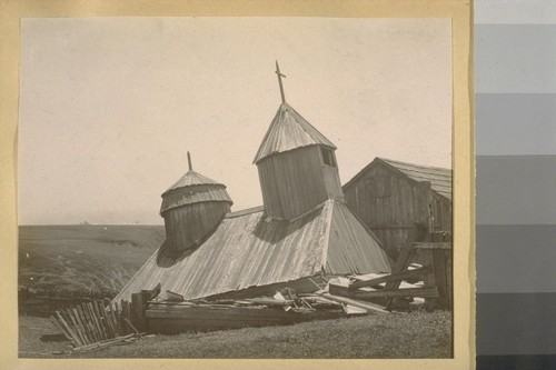Old Russian Church, Fort Ross - after