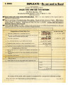 Sales tax and use tax return for first quarter, 1941 covering the period January 1, 1941, to March 31, 1941, Form SBE 401