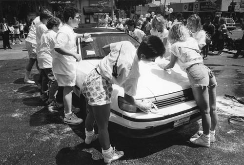 Car wash black girls — photo 13