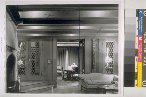 Goslinski house, San Francisco: [interior, unidentified rooms]