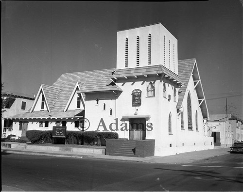 Church, Los Angeles, 1961
