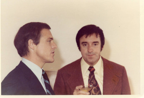 President Banowsky with Jim Nabors