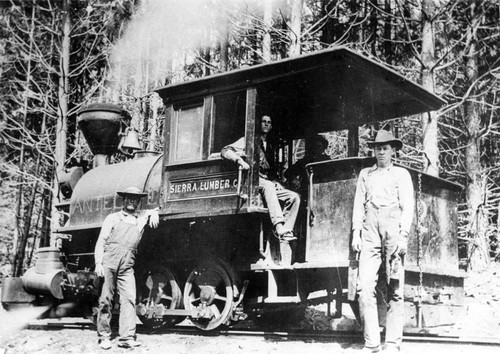 Sierra Lumber CO. Locomotive No. 2