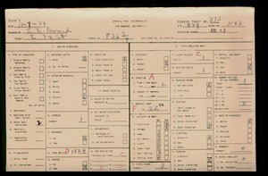 WPA household census for 836 E 74TH STREET, Los Angeles County