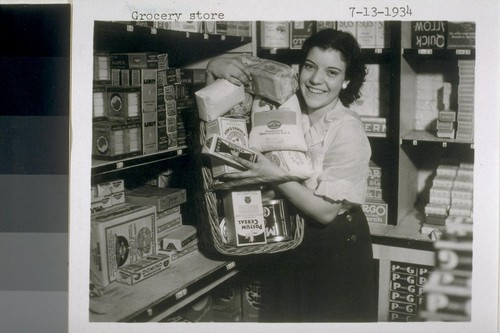 Grocery store 7-13-1934