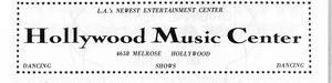 Hollywood Music Center advertisement