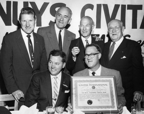 Van Nuys Civitan Club installed