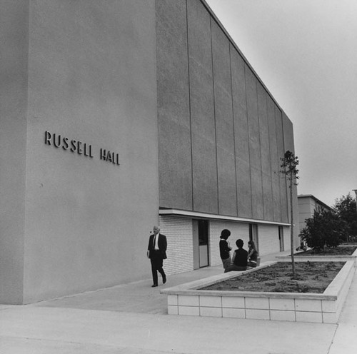calisphere russell hall on the santa ana college campus located at