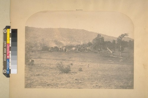 Indian camp, Bear Valley