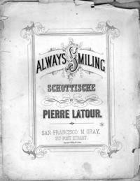 Always smiling : schottische / by Pierre Latour