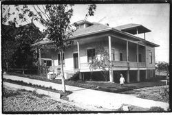 Berry House at 7234 Calder Avenue, about 1900