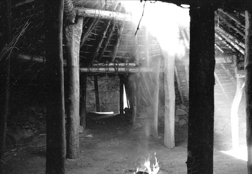 Interior of Yosemite round house