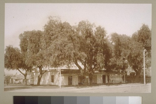 [Residence at corner of Carr St. and Main St.]