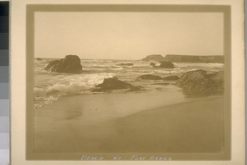 Beach at Fort Bragg