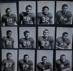 Analy High School Tigers football 1947