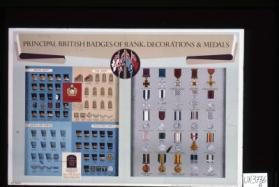 Principal British badges of rank, decorations & medals