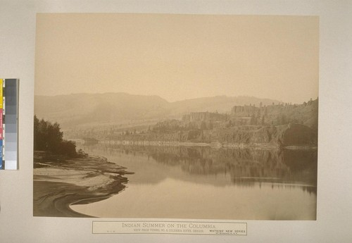 Indian Summer on the Columbia, View from the Tunnel No. 3, Columbia River, Oregon