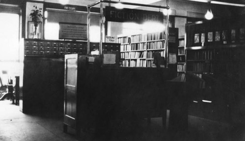Fiction Department, Metropolitan Building, view 3