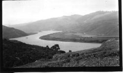 Russian River below Bridgehaven at Penny Island, about 1915