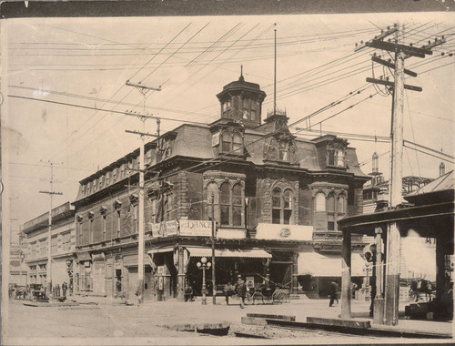 [Photograph of Dietz Opera House]
