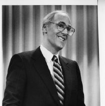 Bill Honig, state superintendent of public instruction. He was elected in 1982 and served three terms