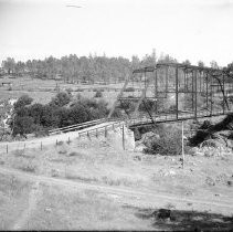 Bridge crossing the American River at Folsom