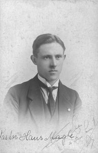 Missionary Rev. Hans Hansen Magle. Married to Anna Lucie Magle née Thomsen. Sent by DMS to Chin