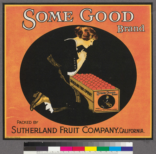 Some Good Brand, packed by Sutherland Fruit Company