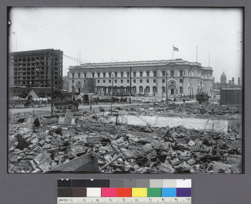 [U.S. Post Office, Mission and Seventh Sts.]