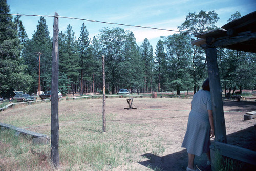 View of the grounds at the Janesville Bear Dance--1978