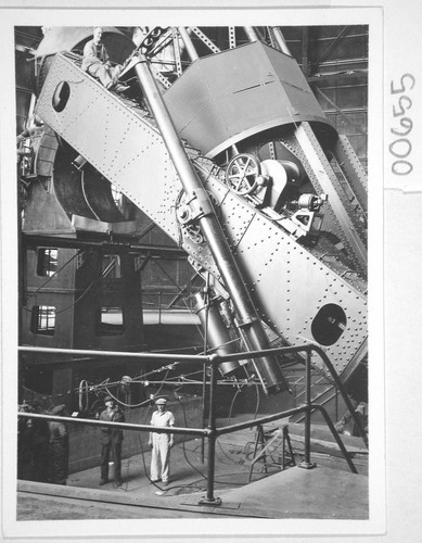 The 100-inch telescope, Mount Wilson Observatory