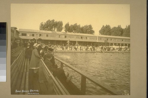 Surf Beach Baths, Alameda [620 Central Avenue]