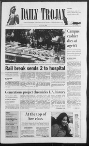 Daily Trojan, Vol. 156, No. 3, August 24, 2005