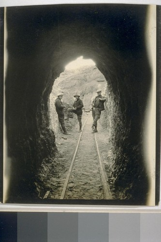 Entrance to the Silver King mine