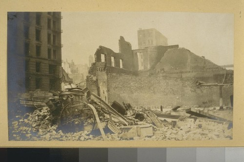2. General Views, Earthquake and Fire Ruins