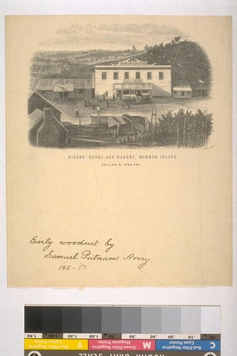 Miner's Hotel and Bakery, Mormon Island