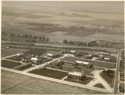 1920s: View from southeast