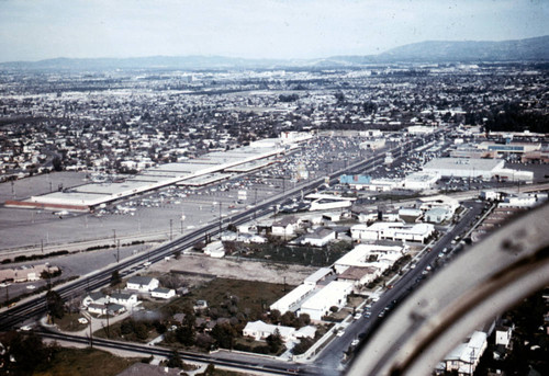 Aerial View Of Chapman And Brookhurst, Garden Grove, Ca. 1965