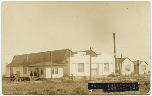 Hendrie Rubber Co. Torrance Cal