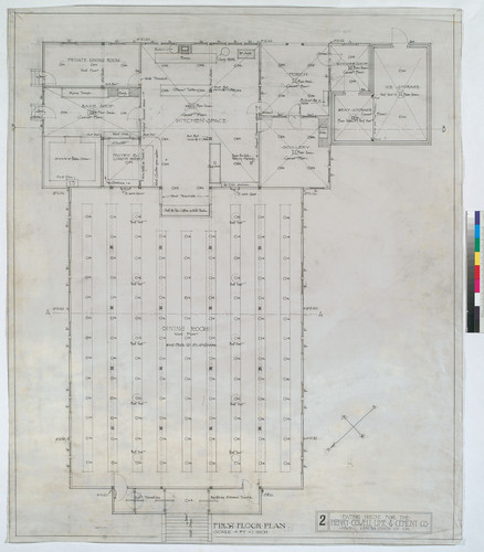 First Floor Plan, Drawing # 2