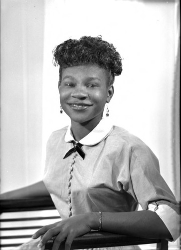 Richetta Gholston, Los Angeles, 1957