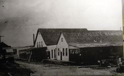 Green Valley Cannery in Graton 1909 where apples and fruit were processed
