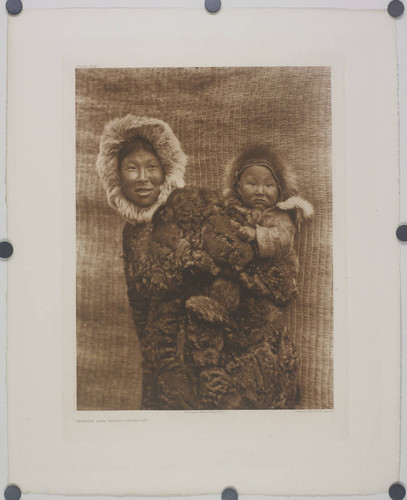 Woman and child, Nunivak
