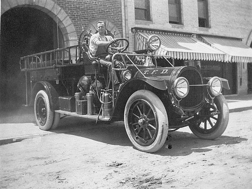 1920s Fire Truck, Tulare, Calif